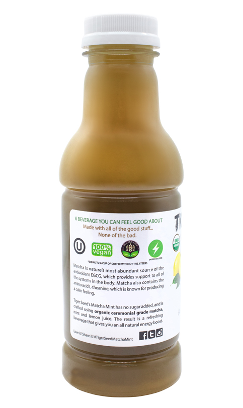 Matcha Mint 9 Pack Tiger Seed Beverage Tonics